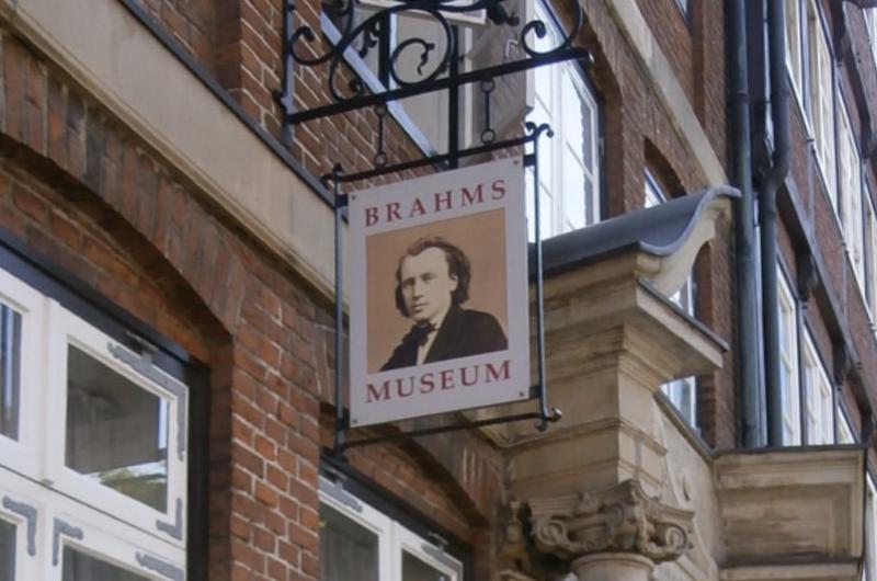 ブラームスの記事についての参考資料のイメージ画像、ブラームスミュージアムの写真