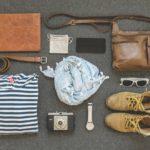 旅行に持っていく荷物のリストのイメージ画像