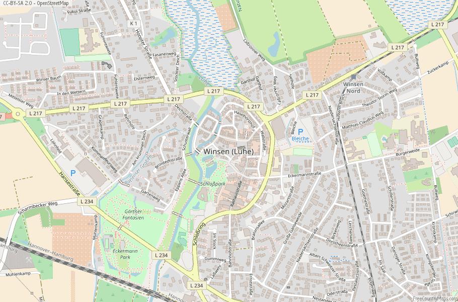 ヴィンゼンの地図
